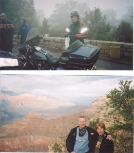 Sunshine and Showers - another day at the Grand Canyon!