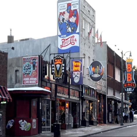 Memphis Beale St 2