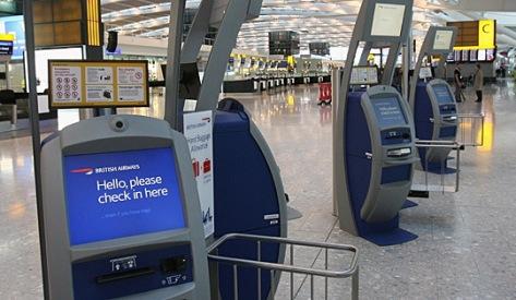 British Airwats checkin at Terminal 5
