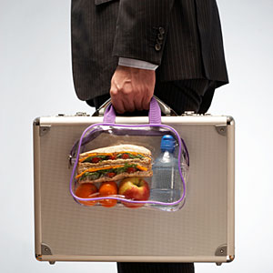 Snack for plane journeys