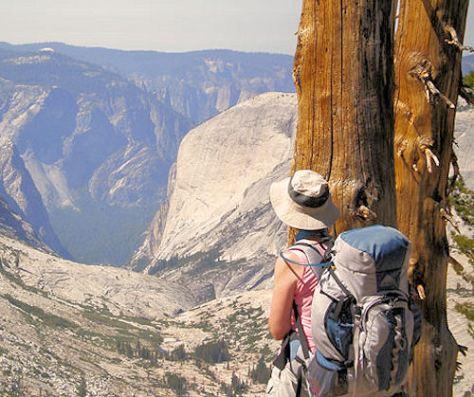Yosemite hiking