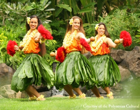 Hawaiian dancers (2)